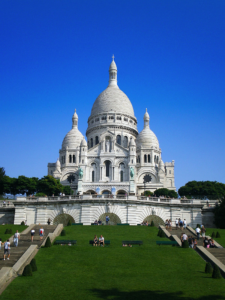 Sacre-coeur in Paris