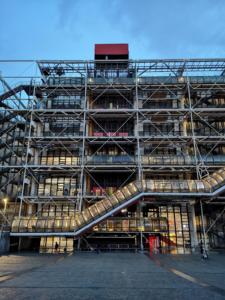 The Centre Pompidou in Paris