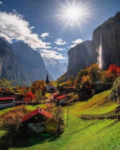 Valley of 72 waterfalls, Switzerland