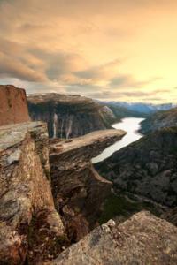 Trolltunga Cliff, Norway