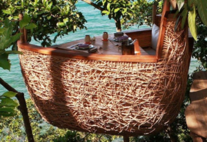 Treepod dining, Thailand
