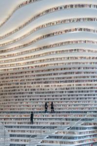 Tianjin Binhai Library, China