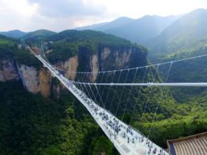 Zhiangjiajie Glass Bridge, China