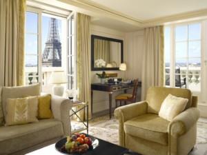 Shangri-La Hotel, Paris France