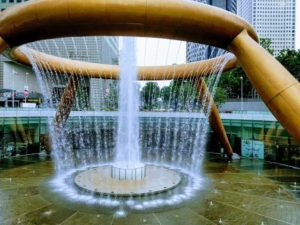 Fountain of wealth, Singapore